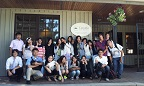 Osaka Gaigo university students and us